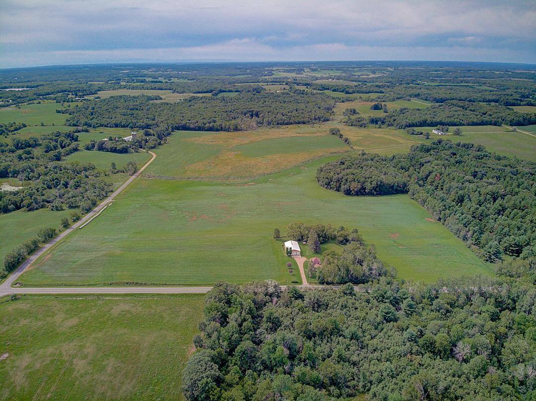 Amazing opportunity to own 38+ acres of woods, hay & hunting land just south of Turtle Lake. This property provides great revenue potential; first 2020 cutting generated 106 round hay bales. Awesome hunting opportunities with an abundance of wildlife including deer, turkey & geese. Wooded area encompassing 4+ acres features bulldozed trails, provides easy access to hunting stands and is great for trail riding. Easy access to the land with paved roads on two sides of the property. Ability to be in the country while still close to amenities in both Clayton and Turtle Lake.