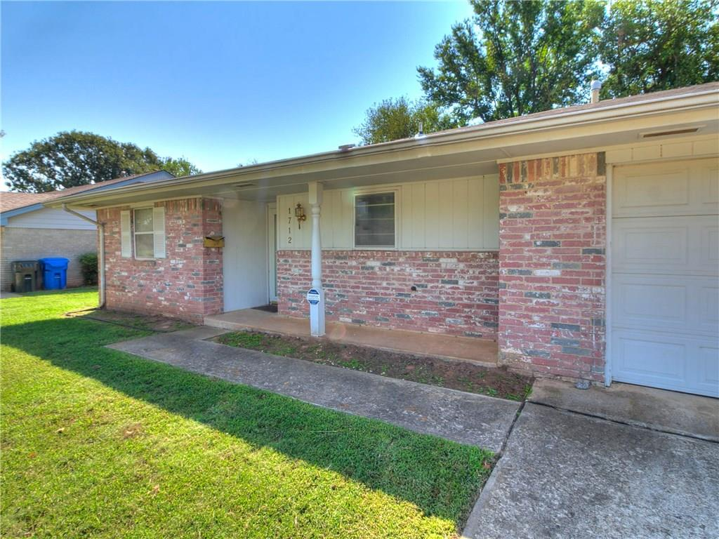 Great starter home in great neighborhood, roof replaced in 2017, storm shelter in garage floor. Come take a look.