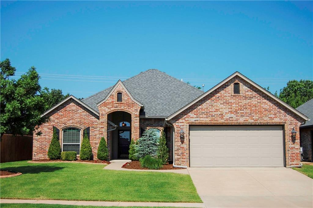 This Home is Gorgeous! Beautifully Crafted 4 bedroom, 2 bathroom, 3 car garage home includes High Comfort & Low Energy Cost in Mind. Enjoy the Vastly Open Floor Plan& all the Many Upgrades this Energy Star Home Provides like Manibloc Plumbing System, both Gas & Electric hook ups for Clothes Dryer,Extra Footage in the Garage with in-ground storm shelter, and largeFront Porch,Crown Molding ,Wood Pediments around Windows & Doors,Faux Blinds,Stainless Steal Appliances, Storm Shelter& So Much More! In-ground sprinkler,  Better Then New w/ a Ton of Extras