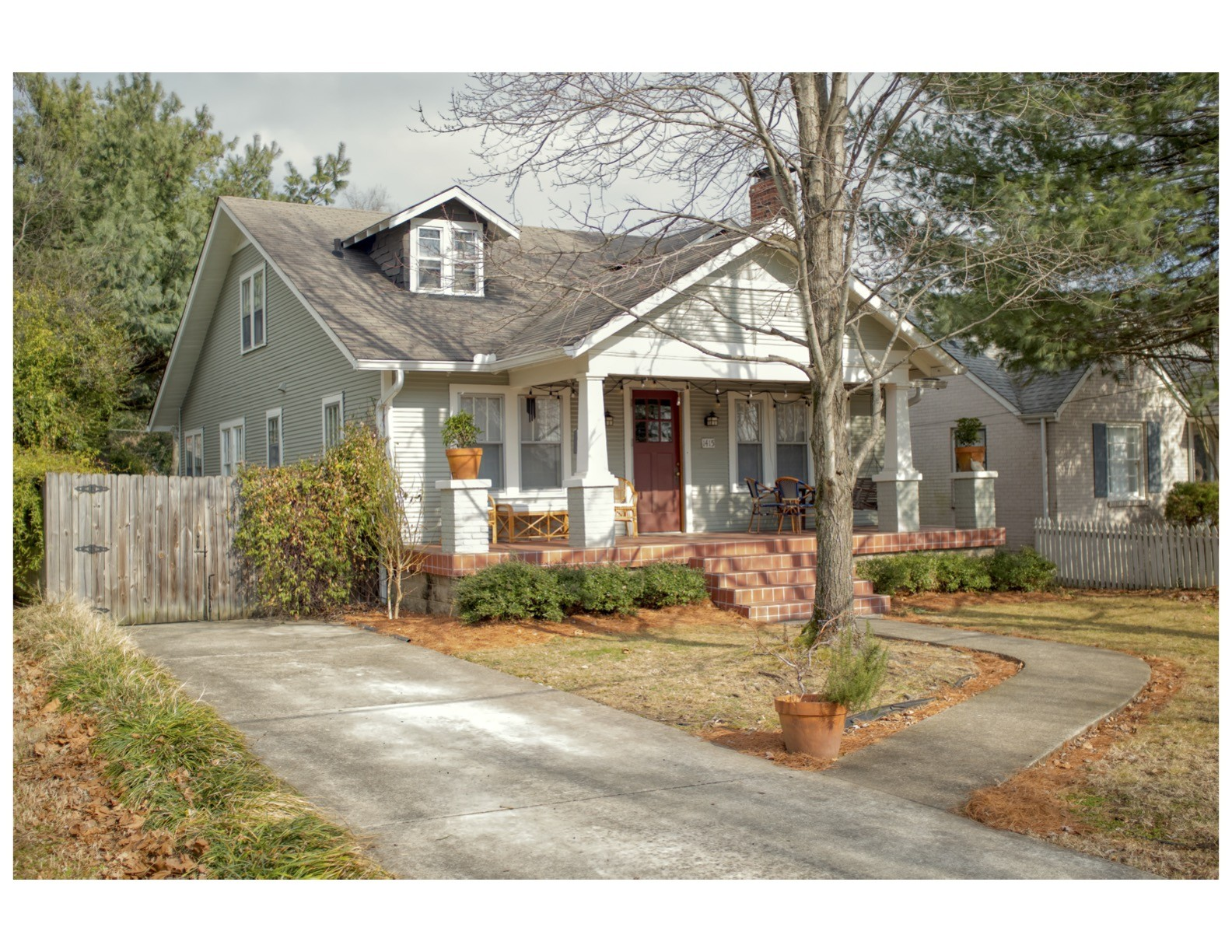 Bright & charming 1920s Craftsman bungalow sits on a quiet street in the heart of E. Nashville.  Original H/W floors, ample attic & bsmt storage, spacious, private backyard & off-street pkg on a fully-paved driveway.  A 300sf detached bldg provides the perfect space for a recording studio, woodworking shop or any hobby/home interest.  Zoned for a 750sf DADU & has priority zoning for esteemed Lockeland ES.  Quintessential E. Nashville front porch & walking distance to 5 Points, bars, restaurants.