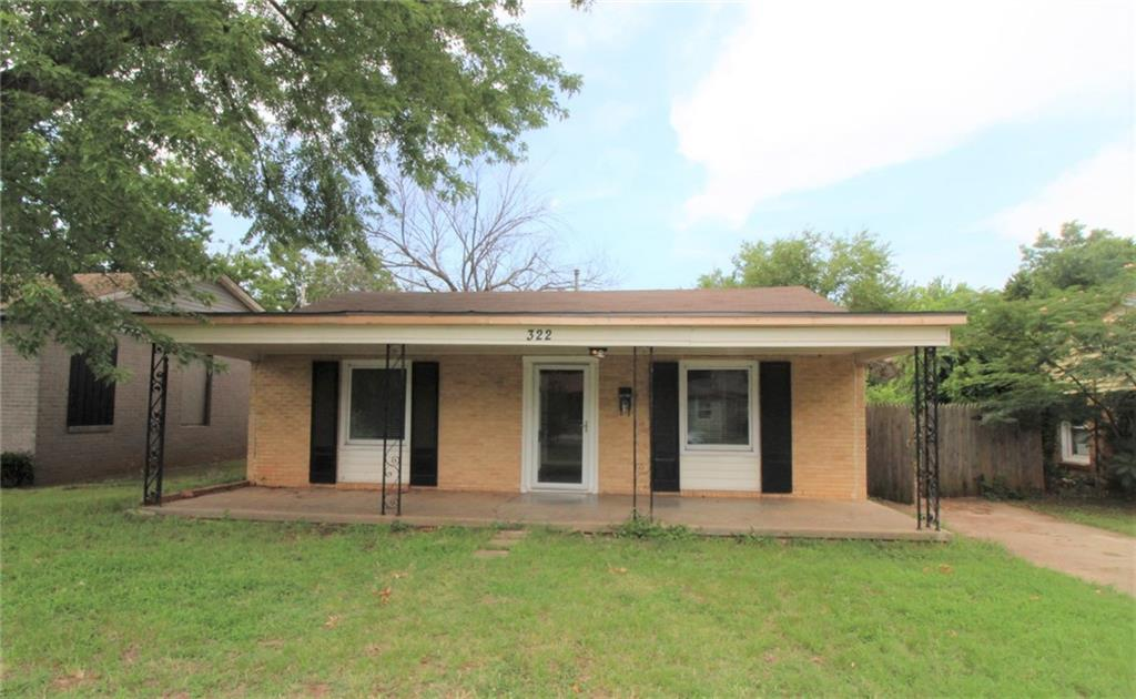 QUAINT AND COZY!!!! 2 Bedroom 1 Bath home located close to Tinker Air Force Base. Window Air conditioning and Wall heat. Stove included. Large backyard and HUGE work shop. NO DOGS!!!Security deposit is equivalent to one month's rent.