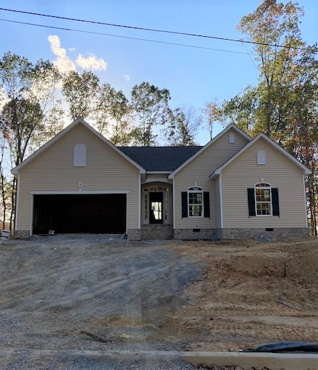 New homes in Williamson Co. One level 3 bedrooms and 2 full bath homes near ALL Fairview schools. Large 1/2 to 1 acre homesites. Open home plans with back decks and level yards. BUYER MUST QUALIFY with Community Housing Partnership.