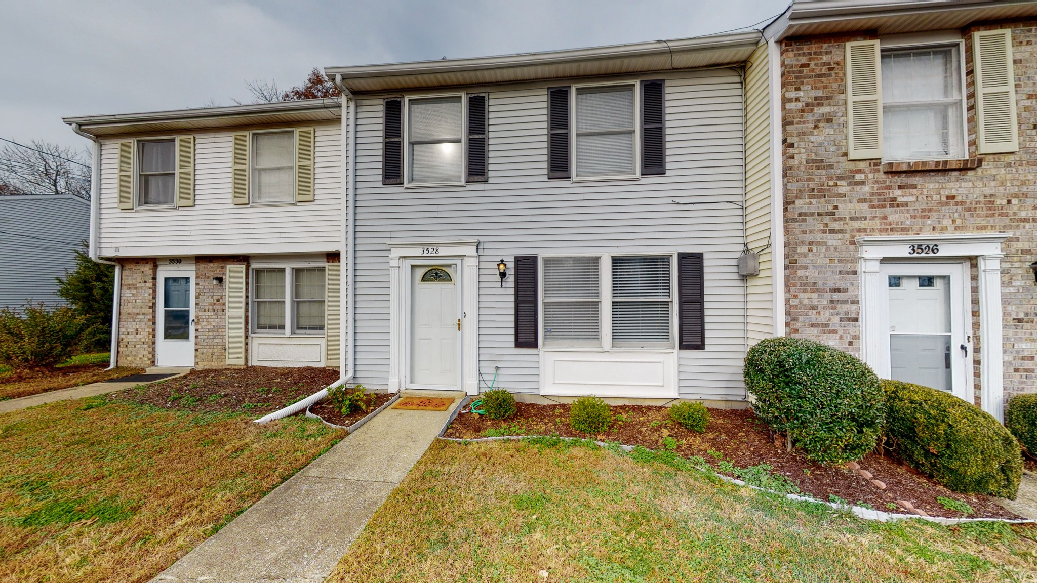 Great layout and amazing price! 2 story townhome, new HVAC, new sliding door, new paint and carpets professionally cleaned. Separate living and dining rooms with a pass through kitchen. Private outdoor patio with enclosed storage shed.  Must See!  **Renting is not permitted**
