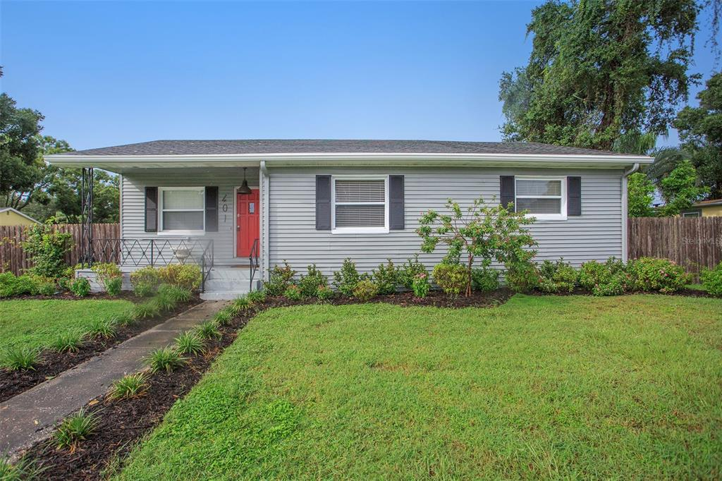 New Listing! 2 Bed 2 Bath 1170 sqft corner lot in St Petersburg. This home has a nice fenced in back yard with a new driveway that leads to a 1 car garage at the rear of the house. Updated kitchen with stainless steel appliances, granite countertops and a farmhouse sink. Updated master bath. Close to downtown St pete and the beaches.