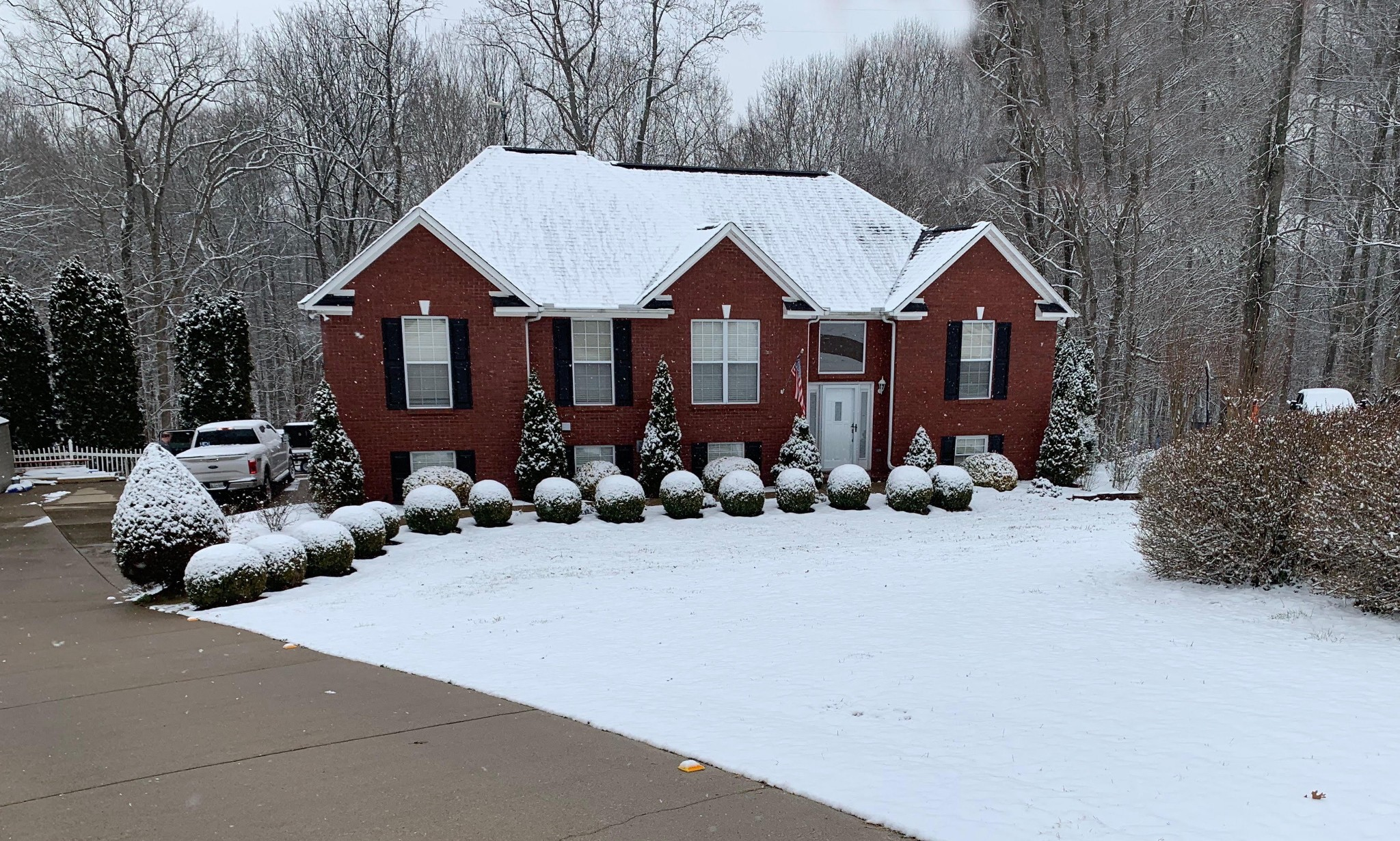 1.5 acres. Cul-de-sac. Roof and water heater 2016. New floors 2018. Finished walkout basement with full bath, living room, bedroom, bathroom, kitchenette. Basement perfect for separate apartment. Perked for 3 BR. 3 car garage. All brick. 10 min to I-65. Well cared for house. New deck and gutter guards in 2020. Current owner relocating. Seller cannot accept sale of home contingency. No showings until January 18th, 2021