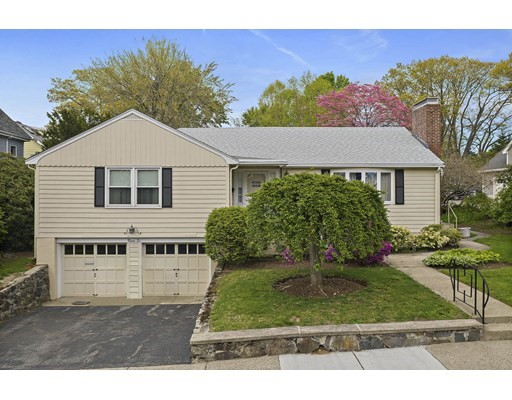 Showings begin Sunday at Open House 12-2! Extremely unique two Family available in Auburndale/West Newton area. Fantastic location! Situated on Waltham/Newton Line. This 2 family is 2 separate houses on 1 lot connected by only a roof.  The front house has 3 bedrooms, 2.5 baths, hardwood thru out the main floor(Under carpets), finished basement, 2 fireplaces & 2 car garage w/oil heat.  Back house offers a 1 bedroom, family room, eat in kitchen & laundry room w/gas heat. Pride of ownership, updated roof & windows. Located close to Auburndale Park & vibrant Moody Street! Perfect for investors to rent to booming life science industry or to faculty at the many universities in the area. COMMUTERS DELIGHT with easy access to Riverside T, Commuter Rail, Mass Pike, Rt.128. Great long term investment, or possible condo conversion. Main house 2225 sq ft, back house 756 sq ft.