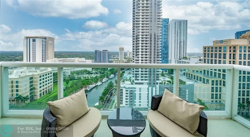 LOWEST PRICED 2/2 IN THE BUILDING! Absolutely impeccable unit on the 24rd Floor! This 2 BR, 2BA  has spectacular city and river views  located at The Watergarden condominium on Las Olas/New River of downtown Ft. Lauderdale. This unit features gourmet kitchen with granite countertops, spacious living/dining room, balcony with glass railing, high impact window and sliding doors, walk-in closets, high speed wiring for phone, video and computer. This 5-Star condominium offers top of the line amenities, resort style pool, private cabanas, club room with piano bar, state-of-the-art gym, multi-media center, sport lounge and much more. Furniture from MH3G & Pottery Barn almost new