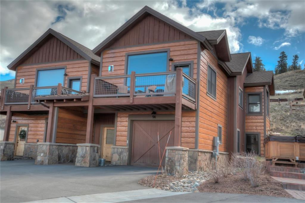 Immaculately maintained townhome with breath taking views of the Gore Range.  Original owners chose the best builder upgrades, and then put their own high end finishing touches throughout.  From the moment you walk in the door, you will feel right at home with the comfortable features and private floor plan.  Two bedrooms and a full bathroom on the first floor for your guests, and private master suite with open floor plan kitchen, dining, and living on the second floor.