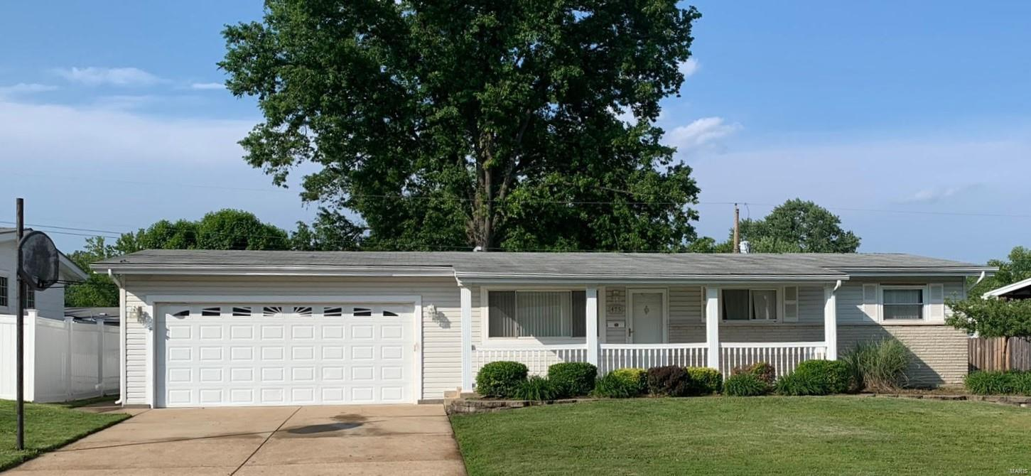 Well-Maintained, Move in Ready 3 Bedroom, 2 Full Bath Ranch home complete with partially finished lower level & fenced yard! Step into the Great Room with gorgeous refinished Hardwood Floors & neutral paint!  Updated Kitchen features newer cabinets, countertops, stainless appliances, faucet & lighting! All three Bedrooms have refinished wood floors & fresh paint and both baths are updated with newer vanities & fixtures. More Living Space in the partially finished lower level with spacious rec/family room, 2 other finished rooms and a full bath! Newer six panel doors, lighting and hardware throughout plus an attached 2 car garage round out this home.  Fenced Backyard with 2 patios for lots of great BBQ's and outdoor entertaining! Located on a Quiet street in the Hazelwood school district and convenient to major roads, parks, shopping and Highways.