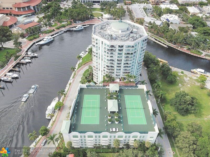 AWESOME VIEWS OF THE NEW RIVER FROM THIS 3 BEDROOM / 2 BATH CONDO!  SPLIT FLOOR PLAN.  MASTER BATH WITH DOUBLE VANITY SINK, JACUZZI TUB AND SEPERATE SHOWER.  HUGE MASTER CLOSET.  UPGRADED KITCHEN WITH GRANITE AND STAINLESS STEEL APPLIANCES.  2 PARKING SPACES AND A STORAGE UNIT.  WALK OR TAKE FREE WATER TROLLEY TO PERFORMING ARTS, HIMMARSHEE AND LAS OLAS.  UPSCALE BUILDING WITH ALL THE AMENITIES INCLUDING HEATED POOL, TENNIS & PICKLE BALL COURTS, STATE OF THE ART FITNESS, BUSINESS CENTER AND SOCIAL ROOM.