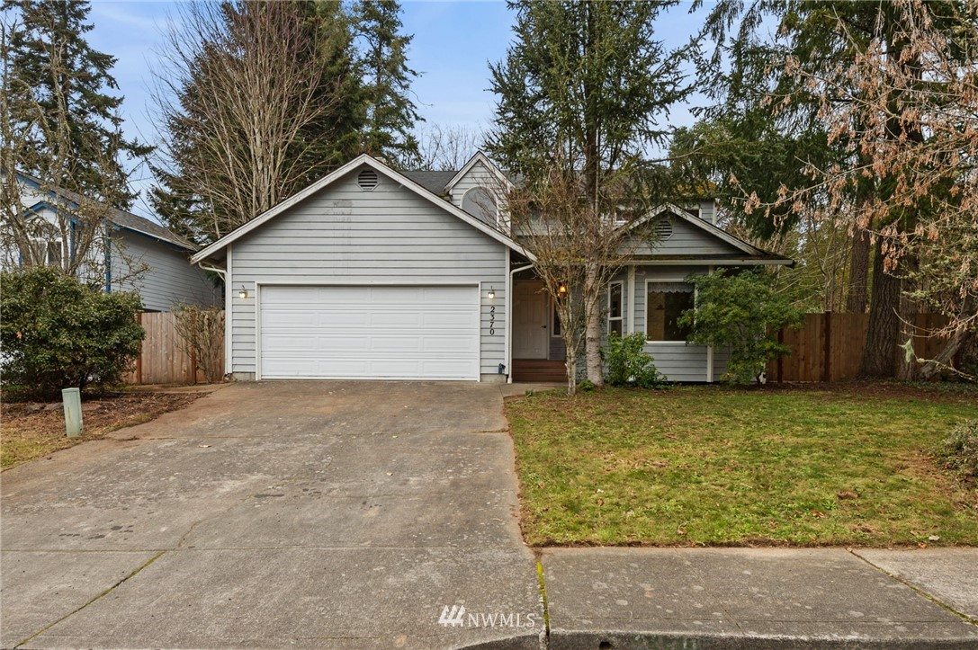 Exceptional value!! Looking for some sweat equity?? Nestled in the heart of Poulsbo, walking distance to everything a great opportunity awaits! Traditional style floor plan with light & bright front living room & dining room. Kitchen w/breakfast nook, pantry & overlooks family room w/fireplace. Half bath & laundry room w/storage. Up you'll find 4 bedrooms, including a master suite w/vaulted ceiling, private bath & walk in closet. 3 additional bedrooms + full bath w/skylight. Spacious 2 car garage, fully fenced yard w/deck & endless possibilities. *OFFERS DUE 2/22 at 10am we will NOT review early- Decision by 2/24 6pm* Selling AS-IS Seller will make NO repairs.