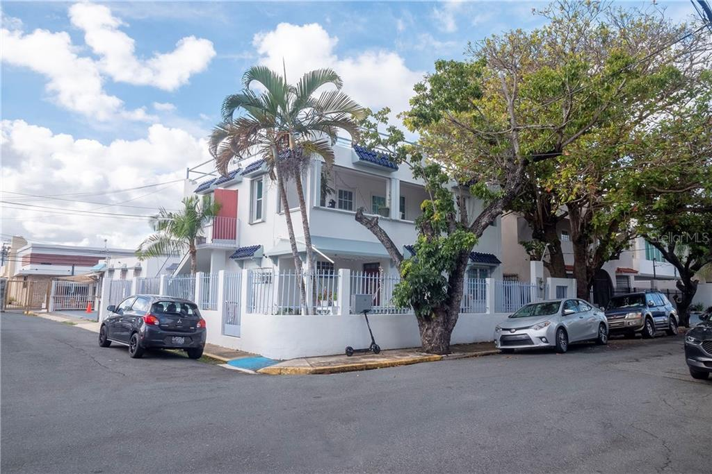 Beautiful multi-family home in the exclusive Ocean Park community. Only 3 blocks from the best beach in San Juan. The house consists of 3 units:  1- 3 bedrooms and 2 bathrooms 2- 1 bedroom and 1 bathroom 3- Studio apartment  Excellent investment. Meters: 246,  Square feet: 2,238, HOA: $120, CRIM: $2,783