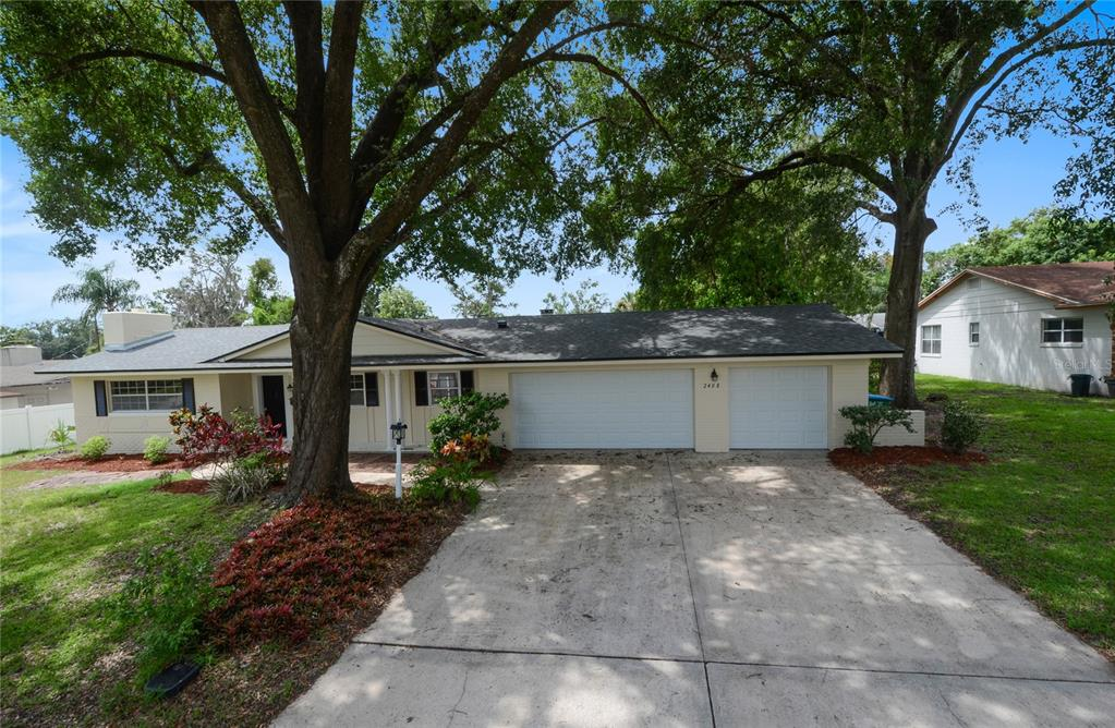 Wonderful Dommerich Hills, this 4 Bedroom, 2 Bath home features a rare THREE CAR GARAGE. Immaculate 1859 Sq. Ft. Living area - Formal Living Room, Formal Dining Room, Breakfast Room off Kitchen and Family Room with views of LARGE back yard - 0.30 acres. Spacious laundry room. Generous closets and storage. Amazing THREE CAR GARAGE with workshop or craft studio. Great lifestyle home. Room for a pool and PLUS a lot of family play area and for pets. See this lot and appreciate the space it offers. This is the total package! Top rated Dommerich Elem., Maitland Middle and Winter Park High School. Located in the heart of Maitland - with shopping, dining, entertainment, a selection of parks with tennis & basketball courts, play grounds, fishing & more. What more could you ask for. Easy access commute or choose the Sun Rail.