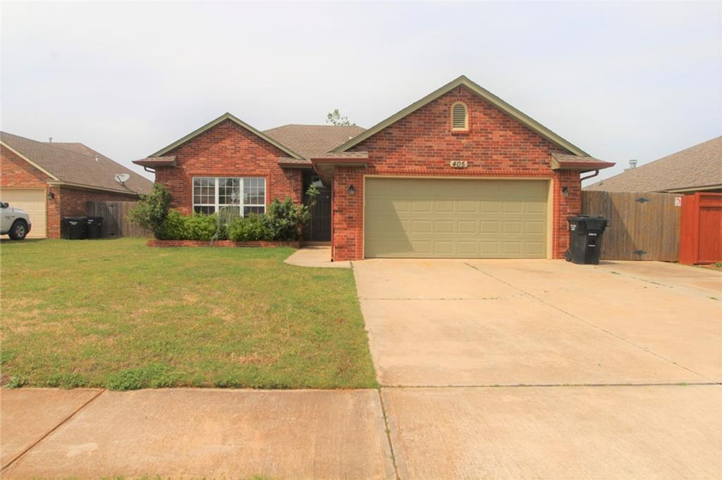 SPACIOUS 3 Bedroom 2 bathroom home with a fenced yard. Stove, Dishwasher, Built-in Microwave supplied. Laundry room with cabinets. Central Heat & Air Conditioning and Vaulted Ceilings. Security deposit is equivalent to one month rent.