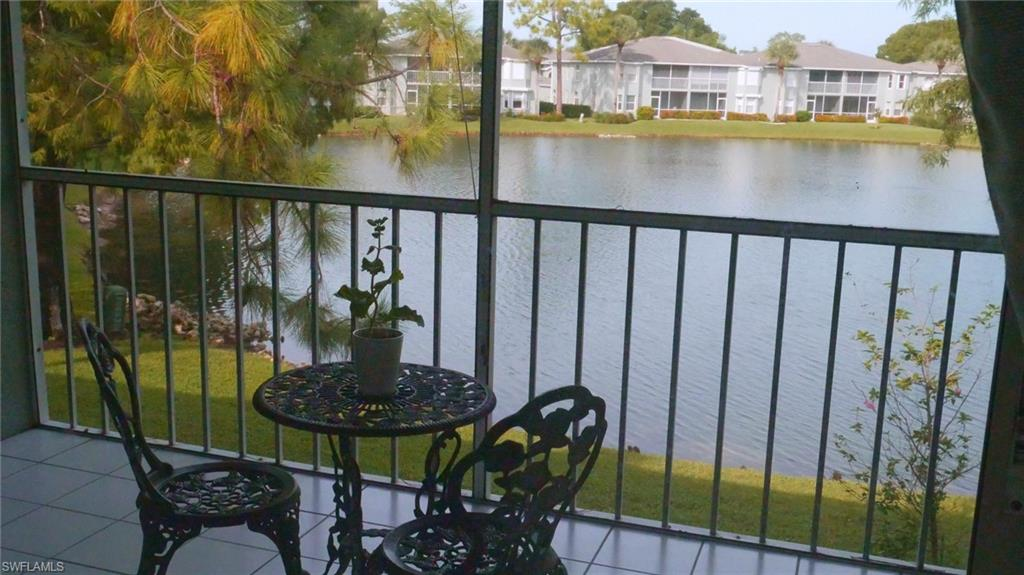 SERENE LAKE-VIEW! Spacious 2BR/2BA condo with vaulted ceilings and one-car garage. Re-modeled kitchen with new quartz countertops and stainless-steel appliances.  Air conditioning system and water heater installed by the end of 2019.  Access to the community pool, tennis courts and fishing pier. Conveniently situated near a shopping plaza within walking distance, and approx. 10-minute drive to the beach!