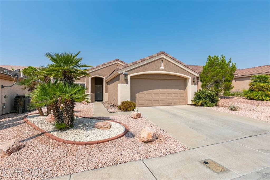 """Well maintained """"Turquoise Model"""" 55+ Perfect kitchen layout with nice breakfast nook area and new SS appliances.  Main bedroom with extended bay window area withwalk-in closet.  Open living/dining room layout with vaulted ceilings. Large alumawood covered patio w/solar shaded, private backyard, Low maintenance landscaping...AND THE BACKYARD IS AMZING!.  Located in the heart of the popular Sun City MacDonald Ranch with a community clubhouse, recreation center, 18 hole golf course, heated pool & spa, tennis courts, arts & crafts, exercise room, restaurant, billiards room,& more."""
