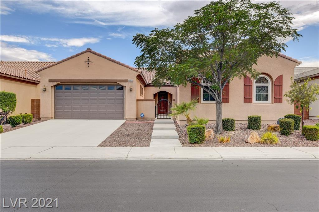 AMAZING SINGLE STORY HOME WITH A CASITA!!!  THIS BEAUTIFUL HOME BOASTS A LARGE KITCHEN WITH GRANITE COUNTERTOPS, AN OVERSIZED ISLAND, BREAKFAST BAR, AND A SPACIOUS DINING AREA.  THE FAMILY ROOM HAS A VAST AMOUNT OF SPACE FOR LARGE FURNITURE, FAMILY, OR ENTERTAINING AS IT OVER LOOKS A GORGEOUS BACKYARD WITH NO REAR NEIGHBORS.  THE PRIMARY BEDROOM HAS IT'S OWN OVERSIZED DOOR ENTRY TO THE BACKYARD, AND A BATHROOM WITH SEPARATE SINKS, A SEPARATE SHOWER, A SEPARATE TUB WITH JETS, AND A WALK-IN-CLOSET.  INSIDE YOU WILL ALSO FIND CEILING FANS THROUGHOUT, AS WELL AS VAULITED CEILINGS, AND SMART WIRING.  WITH IT'S ENORMOUS CASITA, AND QUAINT GATED COMMUNITY BEING NESTLED TOWARDS THE CENTER OF ALIANTE NEAR THE WALKING TRAILS, THIS HOME IS A MUST SEE!!!
