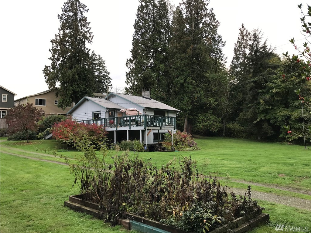 Value in the land! Possible 4 lots on almost .6 acre zoned R5 next to award winning Grass Lawn Park and minutes away from Downtown Redmond, Microsoft, Google, Facebook and short commute to Kirkland and Bellevue. Perfect location for development with last few parcels left in this neighborhood.