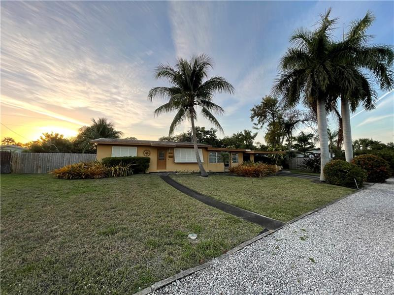 Cute bungalow on huge 10,701 sq ft lot!  Bring your contractor or developer and imagine the possibilities.  Property needs new roof cash only.  New Fence.  Lots of potential in a great location in the heart of Wilton Manors.  Sold AS IS.