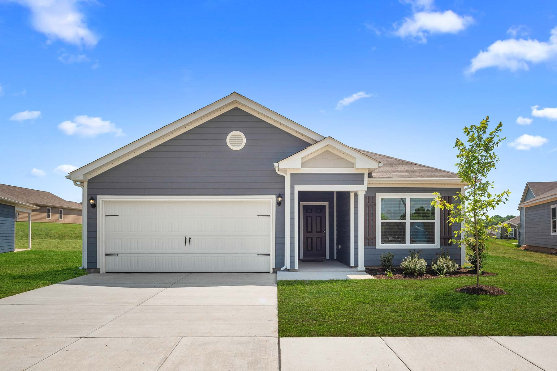 The gorgeous Blanco floor plan can be found in the beautiful community of Honey Farms. This home features an open layout, 3 bedrooms and 2 full baths complete with thousands of dollars in upgrades included at no additional cost. Included in this home is also a covered patio and a beautifully landscaped front yard