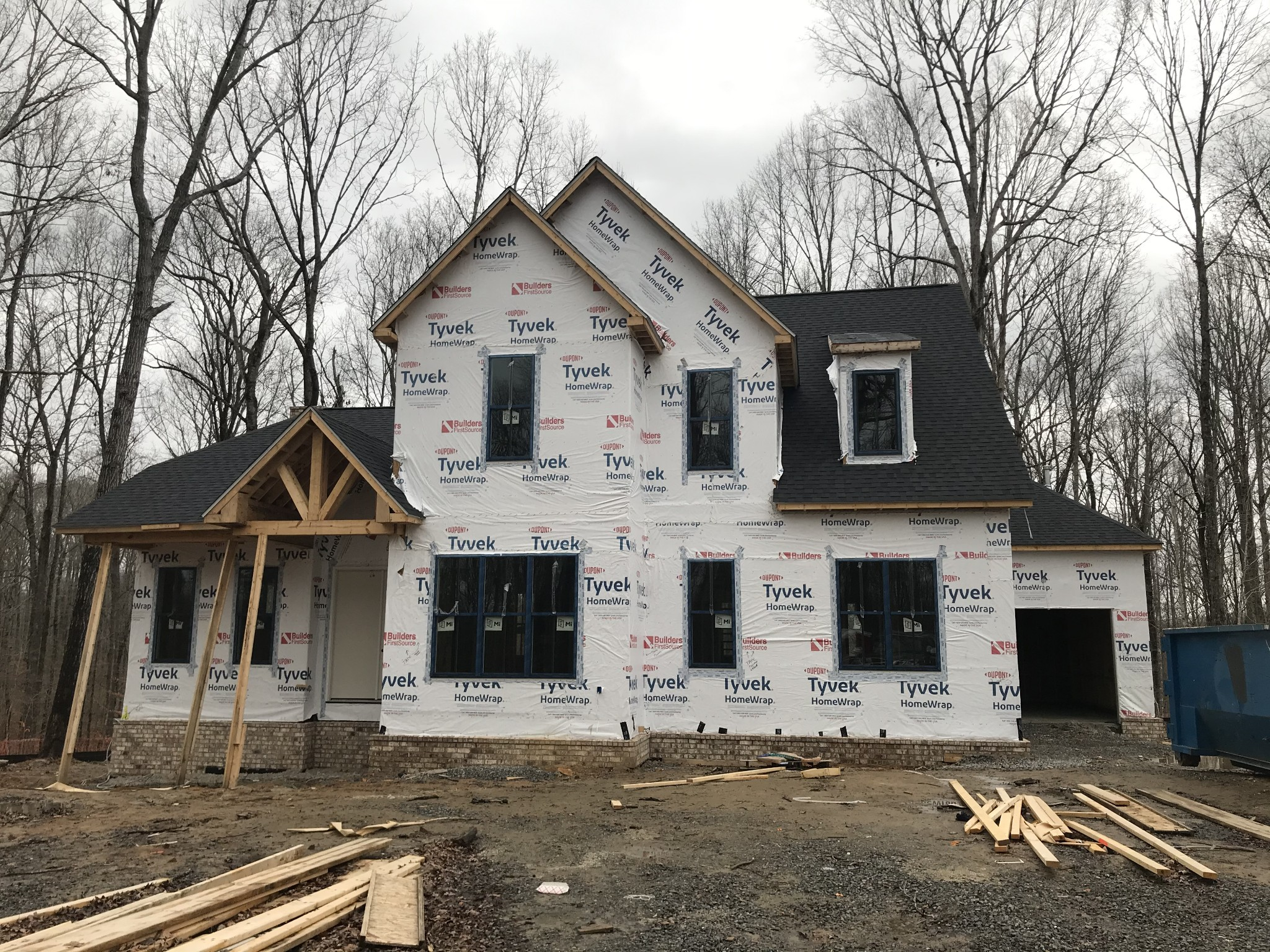 Lot 2 - Beautiful Farmhouse style Home built by Hewn Custom Homes near the Fork! Open concept plan, quality finishes, gorgeous wooded lot, high end appliances, large kitchen and master suite, large bonus room, 3 car garage, Great front proch and rear outdoor living. First Bank CC incentive too!