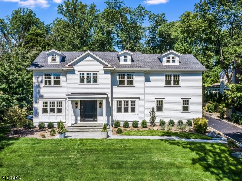 Luxurious newly finished custom home! Resting on .62 acres of privacy on one of Short Hills most desirable neighborhoods,this oasis features 6 bedrooms & 5+ baths. Meticulous craftsmanship throughout. Paneled foyer w/herringbone oak floors leads into living room & family room w/ backyard access.Open floorplan into gourmet kitchen w/ white inset cabinets, quartz countertops & top of line appliances.1st fl in-law suite w/ private bath, mudroom w/ built-ins,1st floor garage, oak floors throughout.Primary suite w/ 2 custom closets & en-suite bath.All 2nd fl bathrooms provide heated floors.2nd fl laundry, large basement w/ rec rm,theater/gym, bonus bedrm/bath & ample storage.Multi-zone HVAC.Sonos ready,Nest thermostats,Generac 2000 kw generator,underground sprinklers,central vac.Private yard w/ bluestone patio.