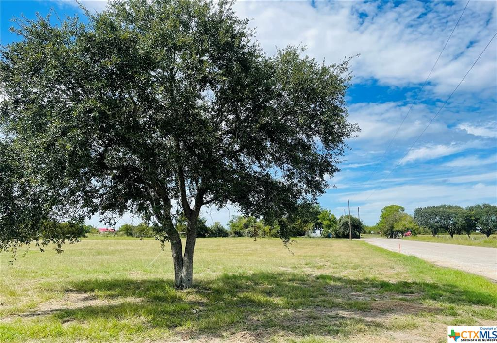 LOT 1 of 9 1.15 Acre Tract 7 miles from Lake Texana, Only a 25 Minute drive to Fermosa Plant. All Improvements are included in the price of land which include the following, Privacy fence along one side, city water, sewer along with a driveway & culvert.  Owner Financing Available- Call listing agent for details.