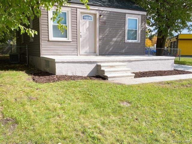 Looking for investment income or just enough room to start a new family. This corner lot property with large fenced in backyard is perfect for you.  Completely remodeled with large partially finished basement and plenty of storage.  Agent must be present to show.