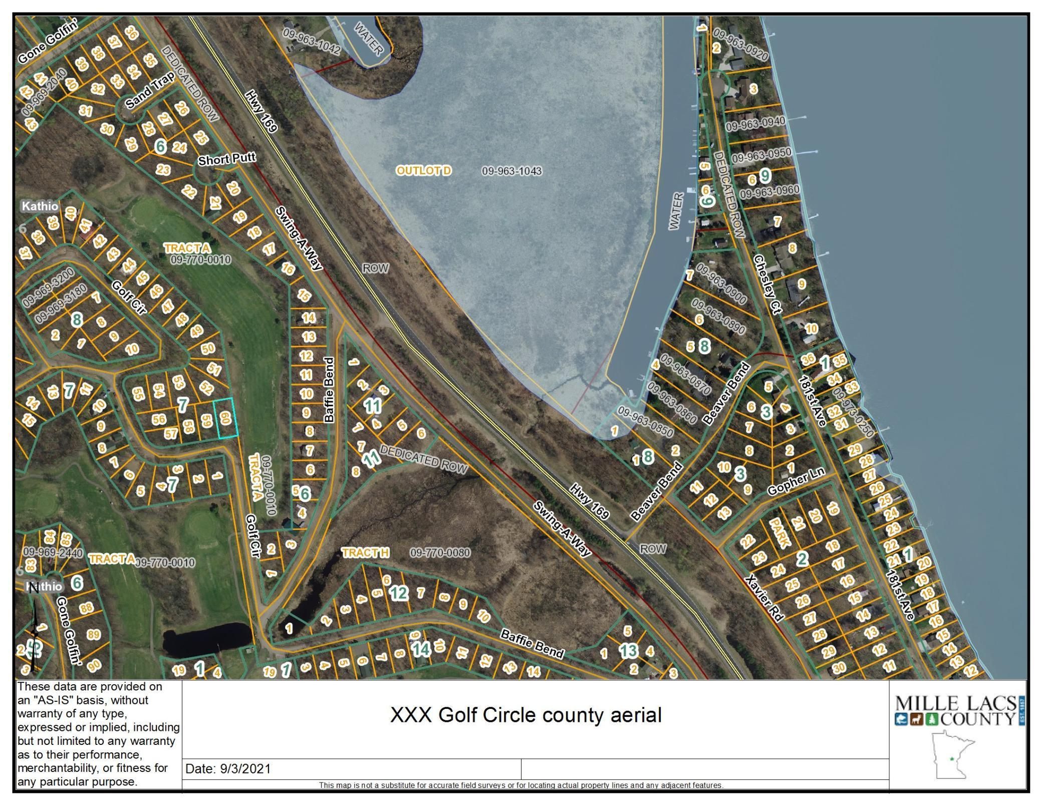 XXX Golf Circle