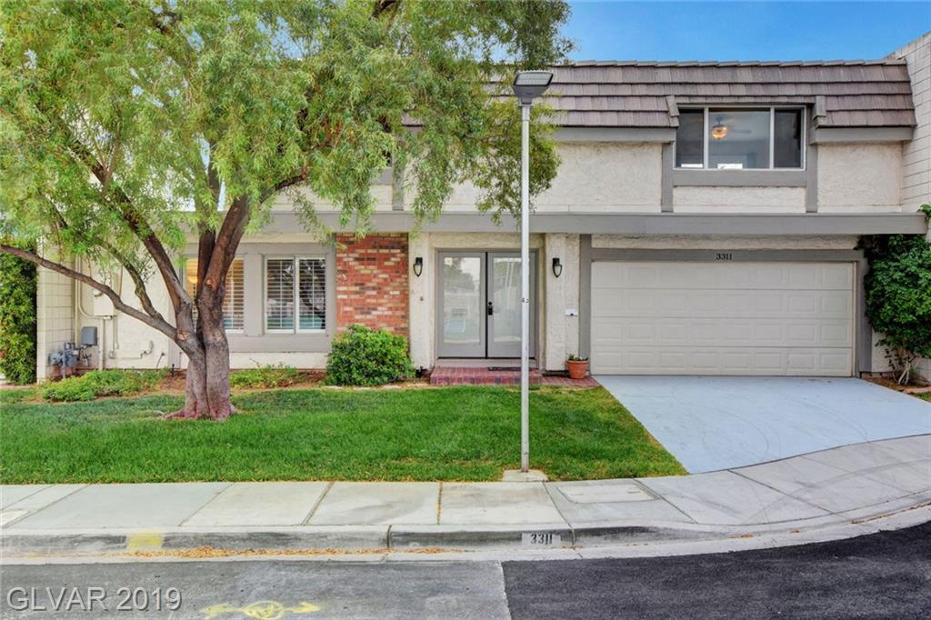 WOW, Newly renovated, highly upgraded 4 Br Townhome,2 car gar, gated w/ amenities. 2158 SF lends to Spacious rooms w/ new kitchen & bath cabinetry, flooring, paint, lighting, appliances, skylights and more.  From top to bottom this home is beautiful & tastefully done. 2 large Br's down w/ 2 baths, glass sliders to XL rear courtyard patio brings natural light & easy access to your own spa. See pictures and listing 4 full view of this amazing home.