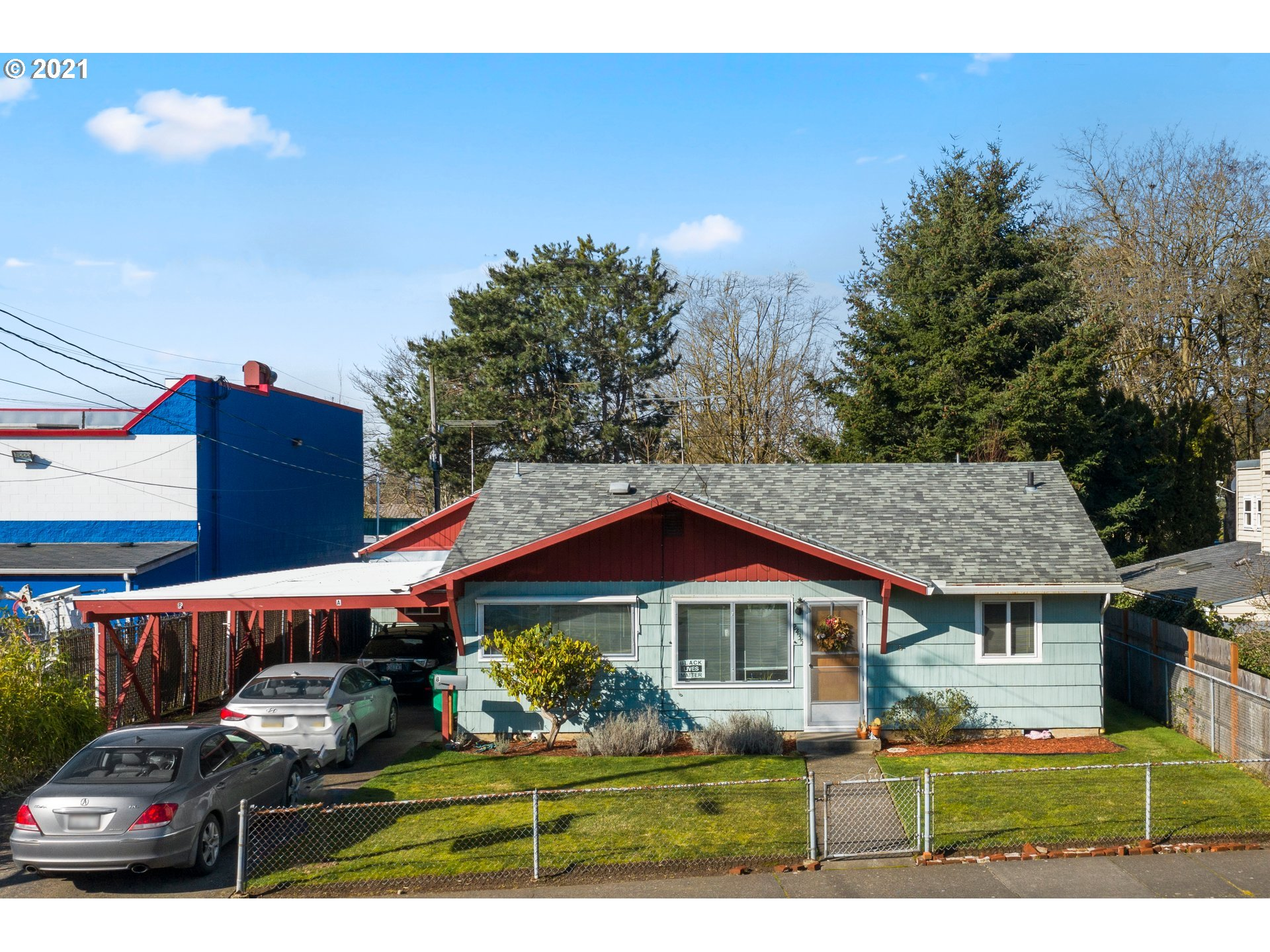 TWO FOR ONE! Two homes~One lot! 4 BR, 1 BA home And  1 BR, 1BA Second home/ADU/AirBnB. Separate addresses. Sewer & Water shared. Sep electric meters. Great investment property. Home was remodeled 2016 incl new gas furnace. ADU was remod/fully permitted late 2016 including electrical upgrade. Hardwood floors; Granite;Stainless Steel appliances; Milgard Windows, Washer/Dryer, Navien All time Hot Water, Full Bath. So CUTE! Live in one and rent the other? In-law house? AirBnB? You choose!