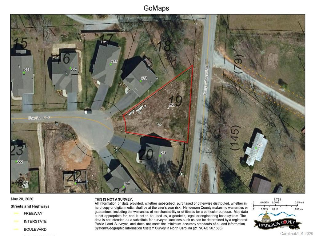 Last building lot in Fox Glen, one of Fletcher's premier planned communities. This homesite is elevated and sits at the end of a cul-de-sac. It is ready for your custom home. The community is just down the road from Fletcher Park and offers a pool, fitness center, and walking trails. This lot is builder-owned and can be purchased as a vacant lot or as a land/home package. Please check out MLS 3587577 and 3587362.