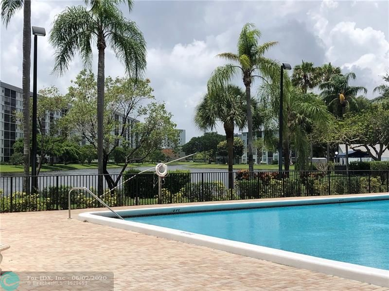 Delightful Poolside Unit in the Popular Cypress Bend community of Pompano Beach. Spacious Split-Floor Plan Ground Floor Unit offering tons of Natural Lighting. In-unit Laundry Closet. Terrific Community Amenities include a Sparkling Swimming Pool, Two Tennis Courts, BBQ Picnic Areas, Fitness Center, Club Room, Children's Playground, Wildlife Sanctuary and much more! Central Location near Casino, Shopping & Restaurants. Low monthly fees & Pet Friendly too! This is a Fannie Mae HomePath Property!