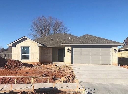 This home will come with all of the bells and whistles, stop by and pick up a list of all the included features. Warranties and a backyard privacy fence are also included! In the Norman School District just south of Highway 9, off of 12th Ave SE, just west of Highway 77. This location allows you easy access to multiple Highways including I-35 which makes shopping, entertainment, and commutes to OKC or Tinker AFB a breeze. Proximity to The University of Oklahoma also makes this community a convenient place to call home for faculty, students & sports fans. Entrance to community is across from Cobblestone Creek golf course.