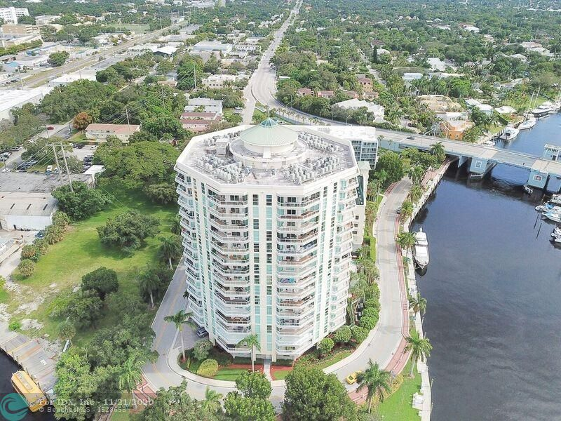 AWESOME VIEWS OF THE NEW RIVER FROM THIS HIGHLY CUSTOMIZED 2/2 IN DOWNTOWN FORT LAUDERDALE!  TRAVERTINE FLOORS ALONG WITH LOTS OF BUILT INS INCLUDING BAR WITH WINE COOLER, MURPHY BED AND CUSTOM CLOSETS.  LARGE MASTER BATH WITH DOUBLE VANITY SINK, JACUZZI TUB AND SEPARATE WALK IN SHOWER.  ALL ROOM ACCESS THE LARGE WRAP AROUND BALCONY!  WALK OR TAKE FREE WATER TROLLEY TO PERFORMING ARTS, HIMMARSHEE AND LAS OLAS.  STORAGE UNIT INCLUDED.