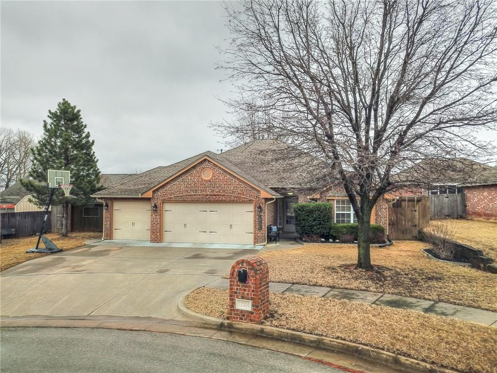 MULTIPLE OFFERS RECEIVED. HIGHEST AND BEST DUE BY SUNDAY 2/23/2020 AT 12:00 pm Exceptional home with tons of upgrades in Yukon. Located on a quiet cul-de-sac just off of Czech Hall Rd, this home is near shopping and I40 for a quick commute to OKC. The kitchen has an incredible amount of storage, large island, granite counters,  updated appliances (2018) and a window-hugged dinette. The oversized master bedroom has new paint, high ceilings and backyard access for relaxing in or outdoors. Master bathroom boasts newly installed shower, bath and floor tile, new lighting, hardware & paint. While you're in the master suite, don't miss the private master patio! Secondary bedrooms have generously sized closets and the laundry room has built-in storage and a fold-out ironing board.   The three-car garage features epoxy floors, shelving, a folding work table, and in-ground storm shelter. Pride of ownership shows in this home. Full list of upgrades available upon request.
