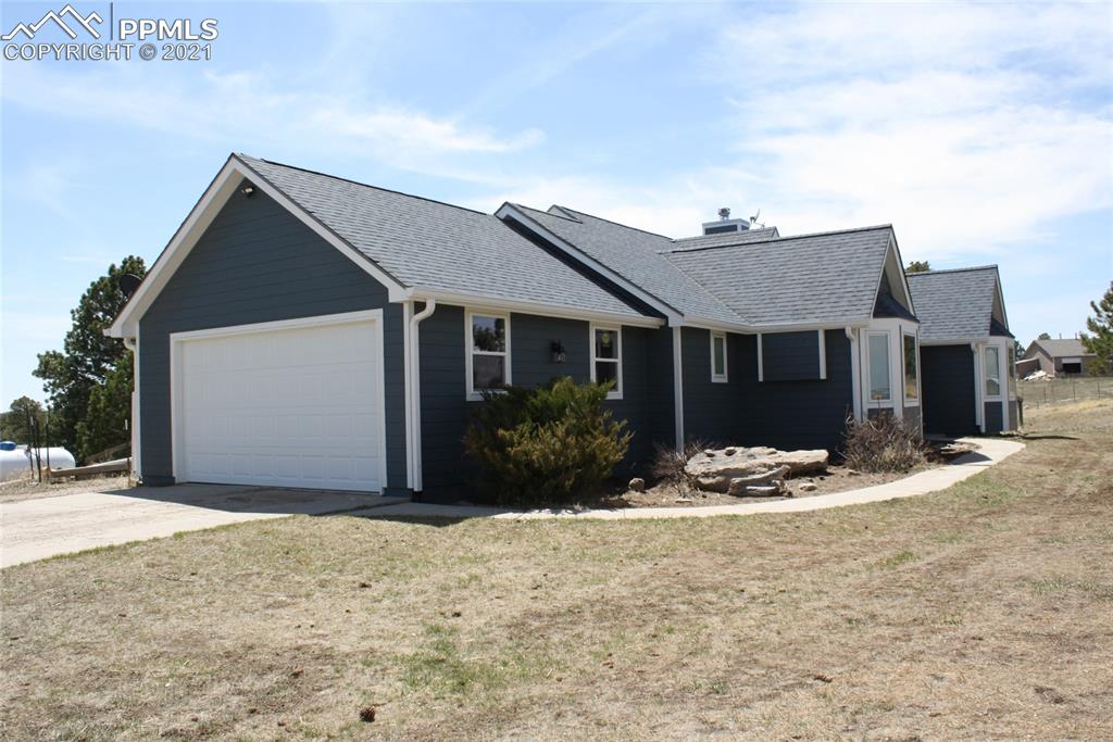 Barn is insulated, 4 stalls with automatic watering, drive through with hay storage, tack room with water, 2 car drive through garage and work benches.  Fully fenced property for free range horses.  All new exterior, including barn, roof, windows, siding, paint, deck.  Chef's kitchen appliances.
