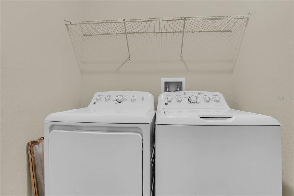Laundry room washer n dryer included