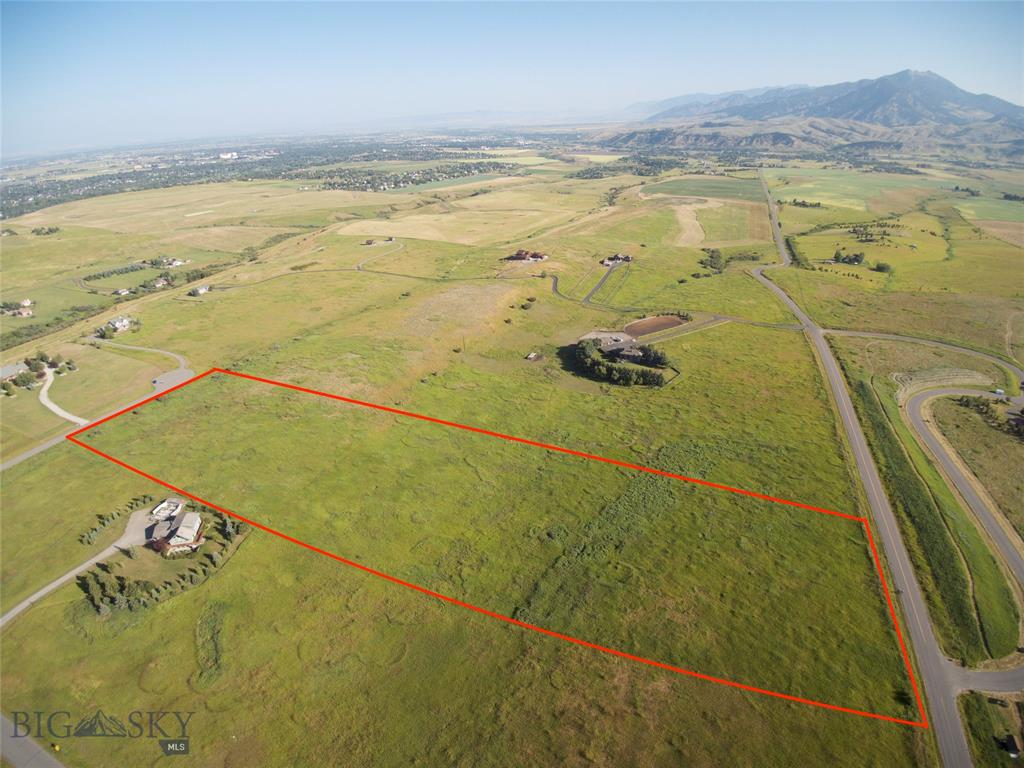 Terrific opportunity to build your dream home in a prime Bozeman location! Fantastic, 360 degree views on just over 10 acres and is only minutes to downtown Bozeman, the hospital and Montana State University. A gently rolling landscape gives you options where to build your home. The adjoining 10 acre parcel to the north is also available and can be sold together for 20+ total acres. See MLS #331759   Call today!