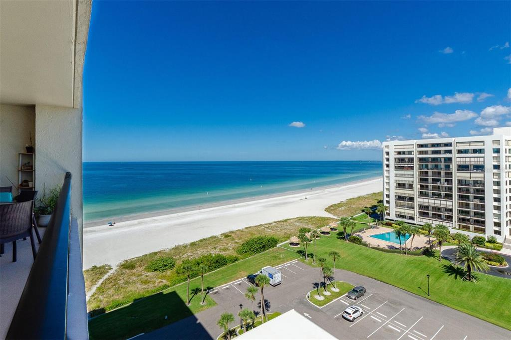 If you are looking for an immediate income producing beachfront condo or 1031 exchange this is it!!! This is a beautiful 2 bedroom 2 bathroom unit on the 10th floor with AMAZING views of BOTH  the GUlf of Mexico and the Inter-coastal! Very rare to find it all! South Beach Condo includes, covered parking, security, clubhouse, storage on ground floor for all your beach chairs, beach side tikis,  grilling station, heated pool and of course STUNNING sunsets!! Once the sun goes down you can turn your attention to the Inter coastal with all the live action shots of downtown Clearwater, lights of the beautiful Belleair homes, and of course front row seating for all of Clearwater Beach fireworks, not many buildings can offer it all!!! Schedule your private showing today