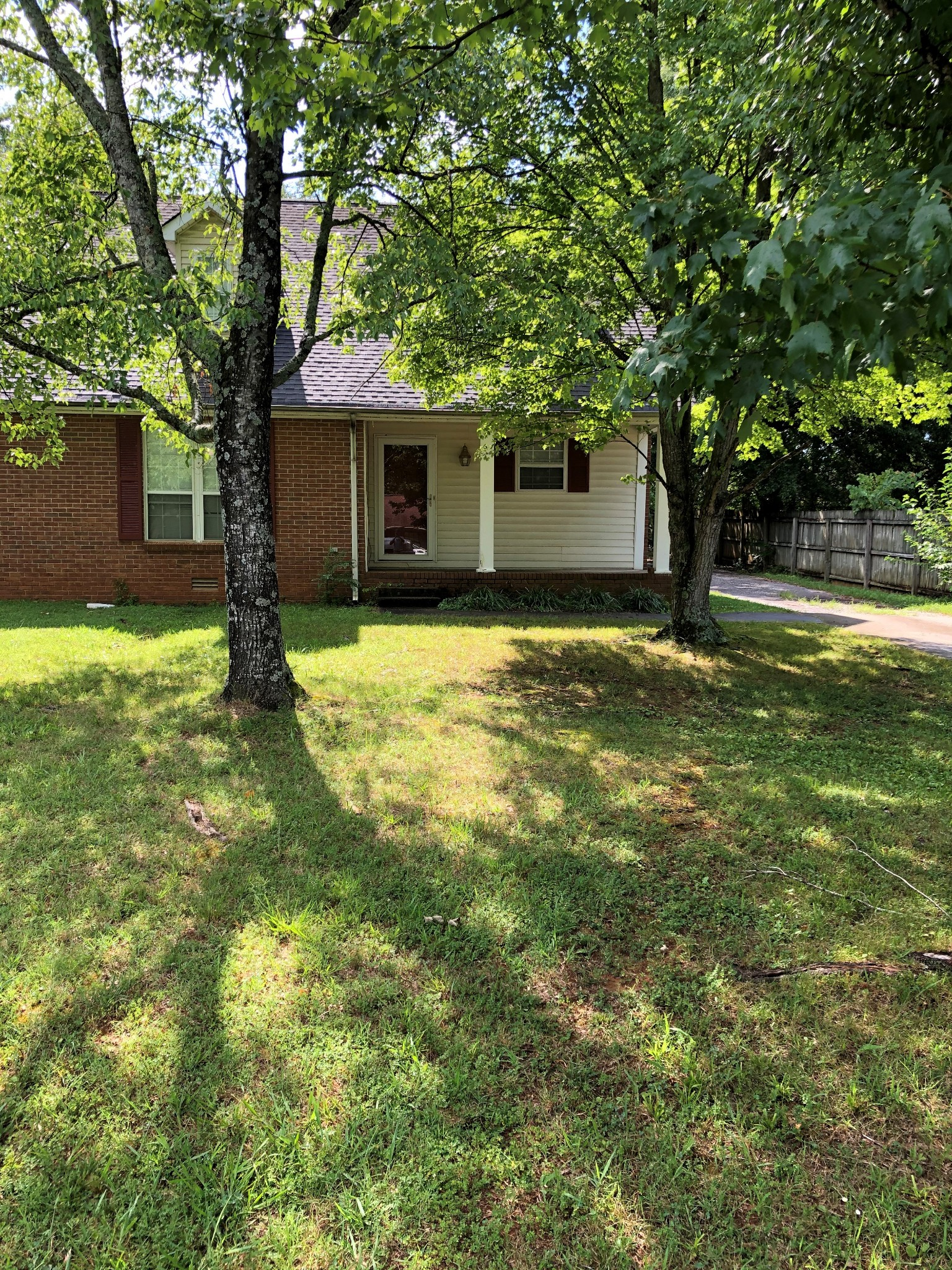 Wonderful large 4 bedroom, 3 full bath brick home within walking distance of Oakland High school also featuring large storage room upstairs, back deck, detached outbuilding. Most appliances stay. Call to view this beautiful home on a quiet street minutes from Middle Tennessee University!
