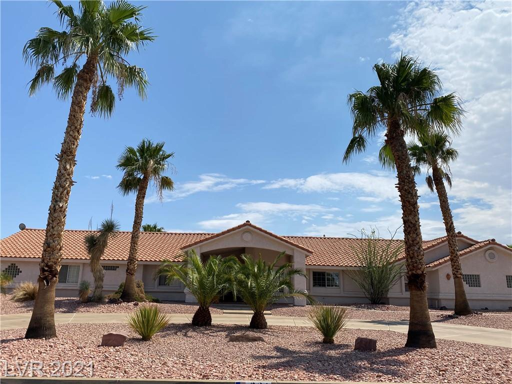 Spectacular Henderson home with NO HOA sitting on over a 1/2 acre! Circular oversized long driveway, amazing 3-car garage w/extensive storage for tools and work bench. In ground pool & raised spa with waterfall! Surrounded by Barrel cactus and tall mature palm trees with low maintenance landscaping. Mountain views from the North. Bright open floor plan, large kitchen w/island and cabinets with custom features. Featuring large bedrooms all with walk-in closets, ceiling fans throughout. Looking to create some ambience? Included are two fireplaces, one in the main bedroom and the other located in the living room. Rare find home has 2x6 construction with custom features. New flooring and new fixtures. Must see to appreciate. Minutes away from Downtown Henderson's exciting and Vibrant Water Street District and all that has to offer. Easy access to freeway and 215. Call to make an appt. today! COVID protocol in place.