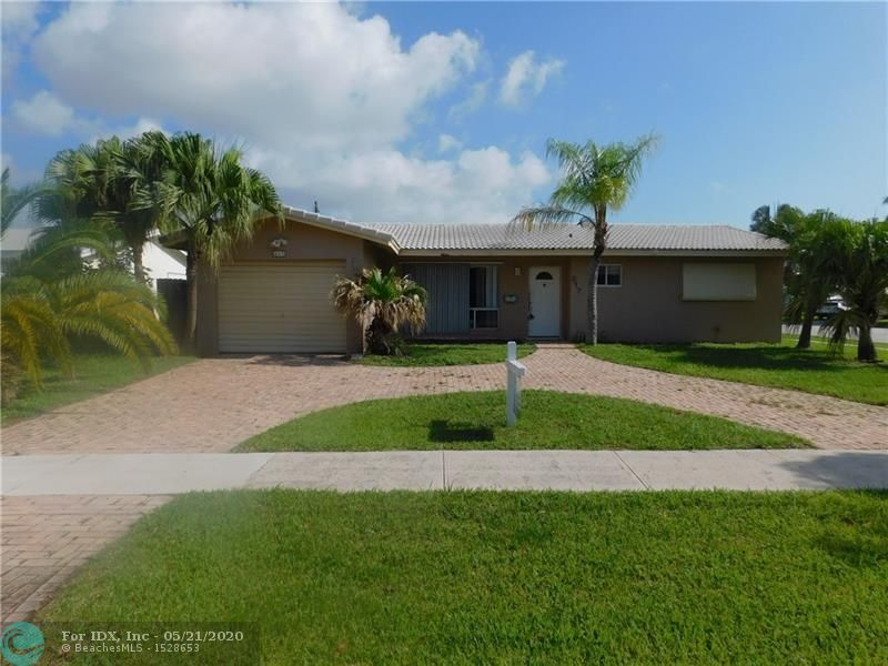 THIS 3 BEDROOM, 2 BATH SINGLE FAMILY POOL HOME IN DEERFIELD BEACH WILL NOT LAST! THIS HOME IS LOCATED ON A CORNER LOT WITH A COVERED PATIO AND POOL WITH DECKING. DID I MENTION THAT IT HAS A 1 CAR GARAGE AS WELL? YES RUN, DON'T WALK, MAKE AN OFFER TODAY!  ALL OFFERS MUST GO TO AUCTION.COM. AUCTION DATES ARE 2/23/2020 THROUGH 2/25/2020.  *Unable to entertain offers until property has been on the market for 5 days.  *EMD amounts are 10% of offer for cash offers