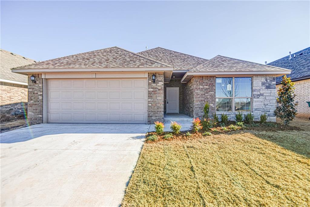 Do you want to add your own personal touch to your new home? Now is the perfect time to select your finishes in this brand new home by an award-winning Builder! This home offers amazing features such as a tandem 3 car garage, large living room with fireplace and open floor plan looking into the kitchen, island/breakfast bar, pantry, master oasis with spacious walk in closet, double vanities, large covered patio, and 4 true bedrooms!