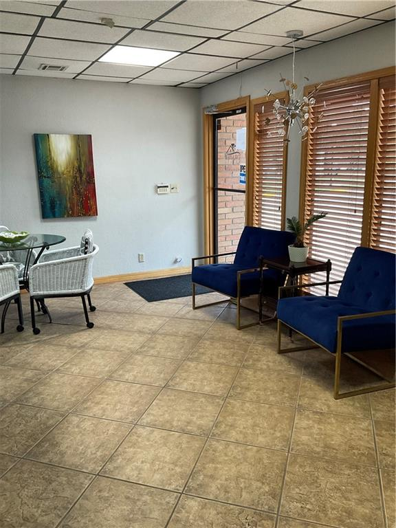 Tenant pays gas and electric.   Very nice office close to campus corner.  Office suite is approximately 1100 sq ft.