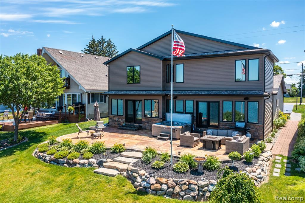Beautiful All Sport Squaw Lake Waterfront Home with 50' of frontage completely remodeled in 2017! Featuring 4 bedrooms, 3 full bathrooms and 3360 sq. ft. this home is a must see if you're wanting to enjoy all that the Ponemah Chain of Lakes has to offer. Open concept floor plan, wall of windows in the great room, firelit dining room & kitchen with large island. First floor master suite with french doors to the deck & stunning water views along with a full bathroom with walk-in closet, shower & soaker tub. Entertainers dream backyard with spacious patio & stone steps to the waterfront deck and sandy beach!