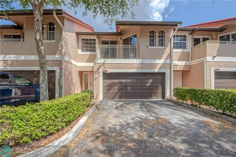 Beautiful 4 bedrooms/ 2.5 Bathroom with a 2 Car Garage in the wonderful neighborhood of Coral Springs! 2017 AC, HOA Covers Roof, Exterior Paint, Water, Lawn Maintenance and Pool! Wood Floors Downstairs, Carpet Upstairs, Both Bathrooms Upstairs have been remodeled! Open Floor Plan Kitchen has granite countertops, Recess Lighting downstairs and upstairs. 18.5 x 10ft. Wood Deck Perfect for family gatherings! Private Backyard No Neighbors behind you! Vaulted Ceilings Upstairs, 4th Bedroom Floor to Ceiling Windows! Check out the virtual tour! Great school zone! Walking distance to Coral Park Elementary School! Across the street from Park! Close to restaurants and shopping! Dont let this one pass you bye! Mininum 635 Credit Score FHA & VA Approved!