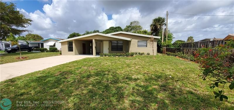 Lovely 2 Bedroom / 1 Bath remodeled home with newer roof, ac, and upgrades all throughout the home. New Kitchen cabinets, backsplash. Spacious family room and large backyard with room for a pool. Perfect for a first time home buyer.