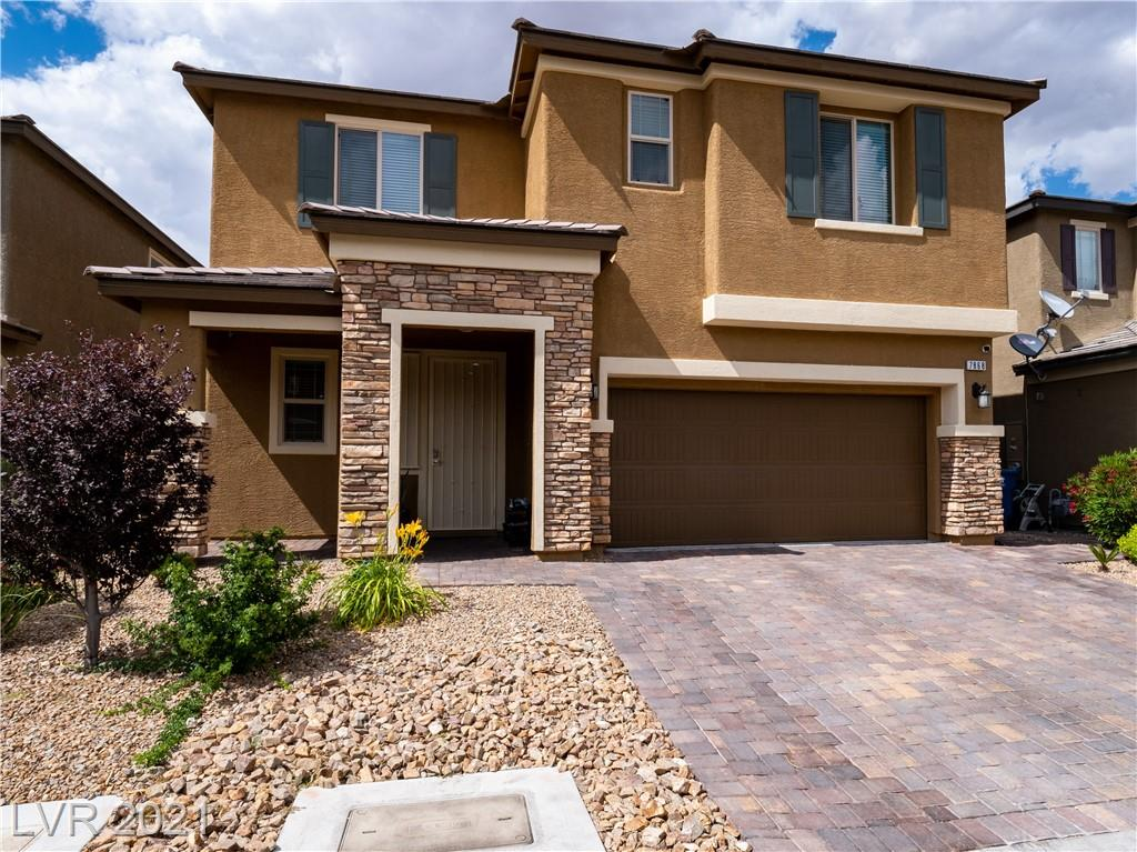THIS HIGHLY UPGRADED HOME IS EVERYTHING YOU NEED! TURN KEY READY WITH 12X24 PORCELAIN TILE 1ST FLOOR. SPEAKERS IN LIVING ROOM,KITCHEN, DINING,OWNER SUITE AND COVERED PATIO. BEAUTIFUL FULL OVERLAY CABINETS WITH UNDER LIGHTING AND GLASS MOSIAC BACKSPLASH. OFFICE DOWNSTAIRS. WATER SOFTENER AND SINK IN GARAGE. HUGE LAUNDRY ROOM UPSTAIRS WITH SINK AND CABINETS. QUIET CUL-DE-SAC WITH EASY ACCESS TO SHOPPING AND MTN EDGE PARKS.
