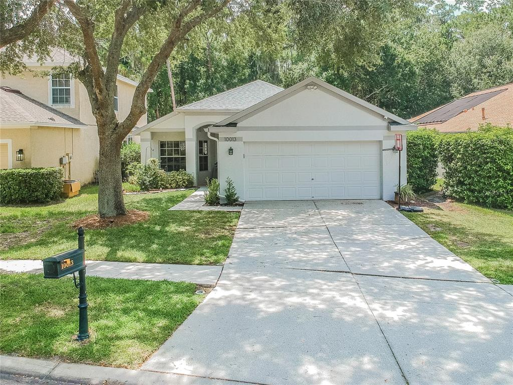 Located in the HEART OF WESTCHASE!!! This beautifully updated 3 bedroom 2 bath home has it all, and with a location that cannot be beat!   It is just a few homes from the park, the community pool, tennis courts, golf course and walking distance to the Village with its restaurants and bars. This home boasts updates and upgrades including kitchen (2017) and baths (2019), a new ROOF (2019), new patio pavers (2020), exterior paint (2019), interior paint (2020), living room plantation shutters (2020).  The home features an open floorplan with spacious living areas and bedrooms.  The newly updated rear patio features ample privacy by backing up to the conservation area AND still having the convenience of being right next to the best that Westchase has to offer.  Hurry because this property will not last long.  Please no showings before 2:00 PM, 10/20/21.
